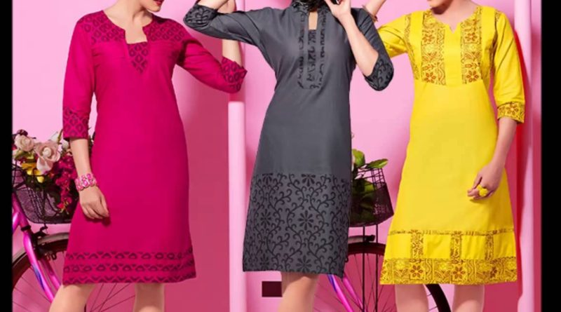 simple kurti cutting and stitching