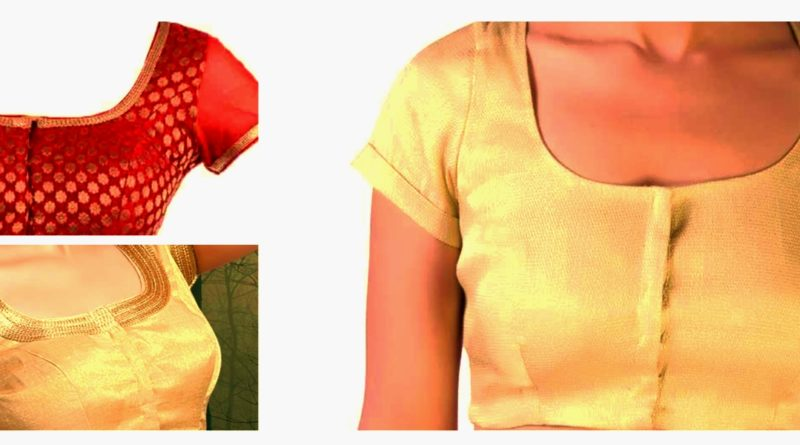 simple blouse cutting and stitching