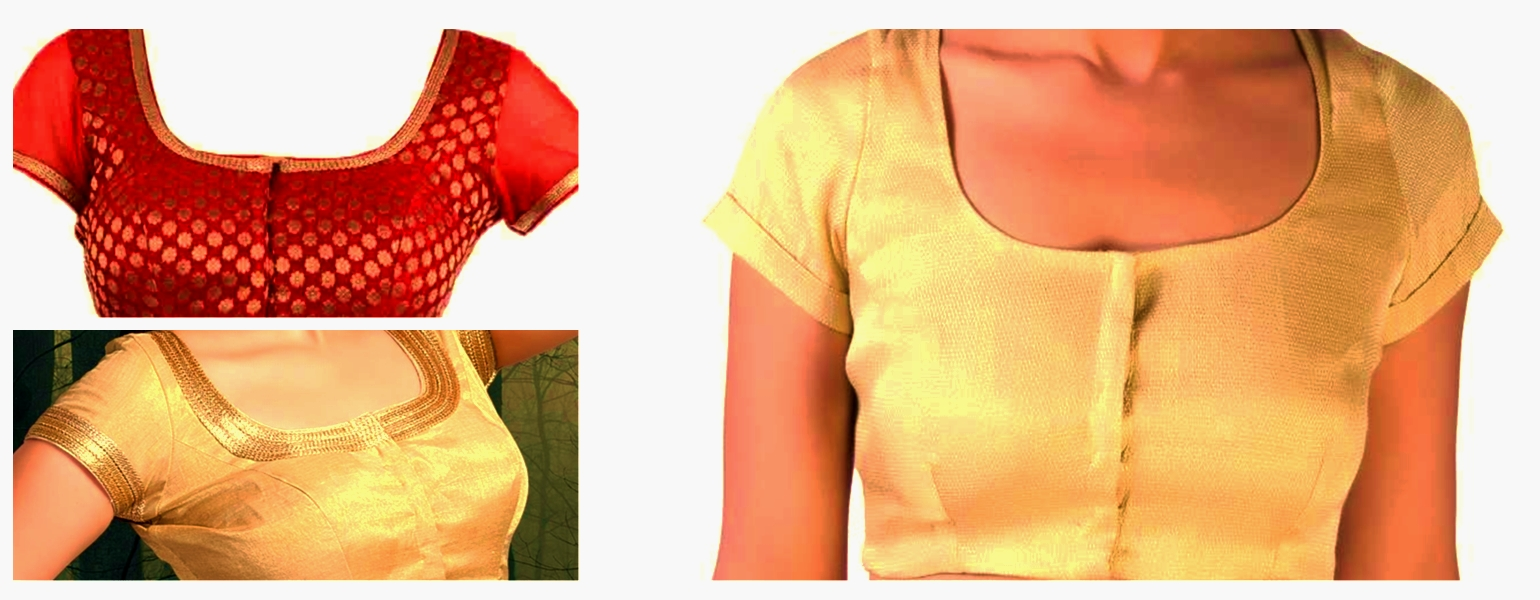 Simple Blouse Cutting And Stitching Step Wise Procedure