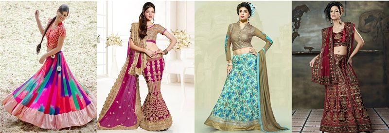 types of lehenga for your body shape