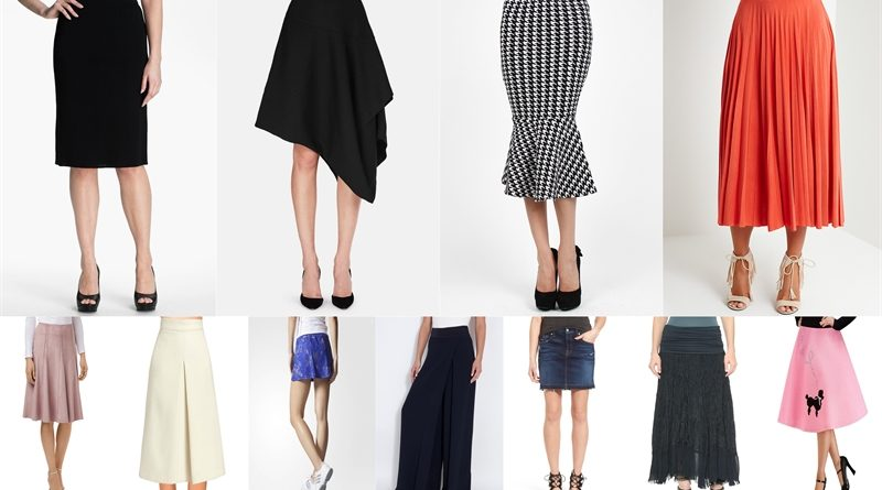 types of skirts and when to wear them