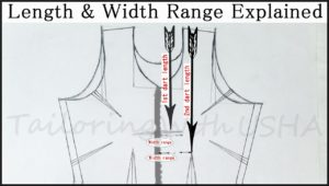Lengths & Width Range Explained - Size Chart For Women Blouse