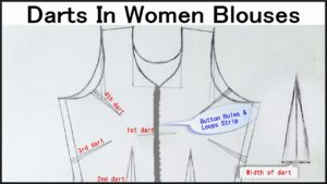 Size Chart For Women Blouses - Darts